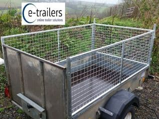 MESH EXTENSION KIT FITS RAMP VERSION IFOR WILLIAMS P7e (FRONT AND 2 SIDES)